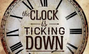 Clock is Ticking Down