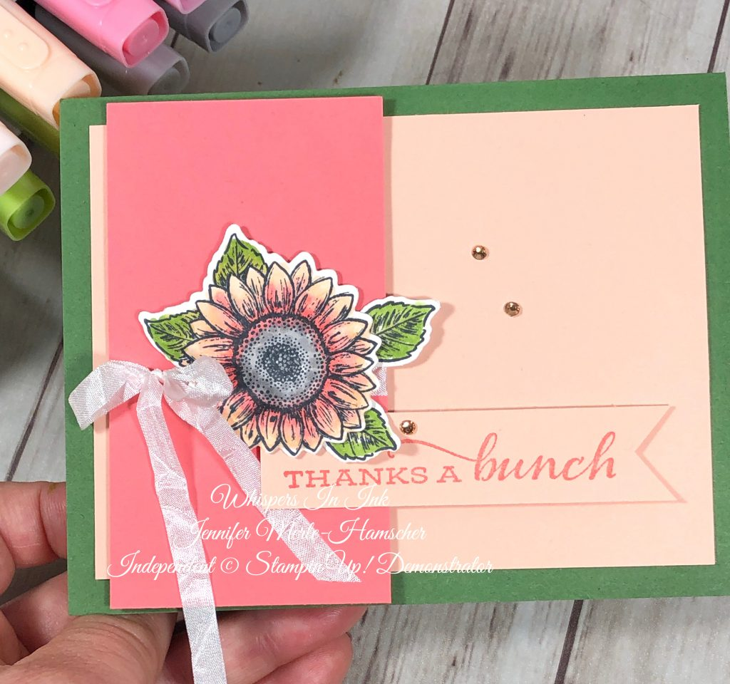 Stampin' Write vs. Stampin' Blends