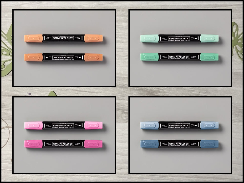 2020-2022 In-Color Stampin' Blends