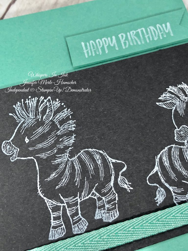 Zebras and Happy Birthday