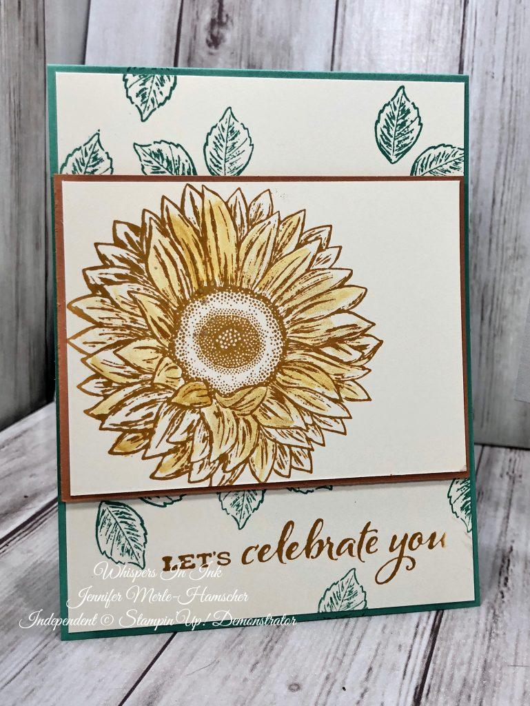 Sunflowers used on Girl's Night