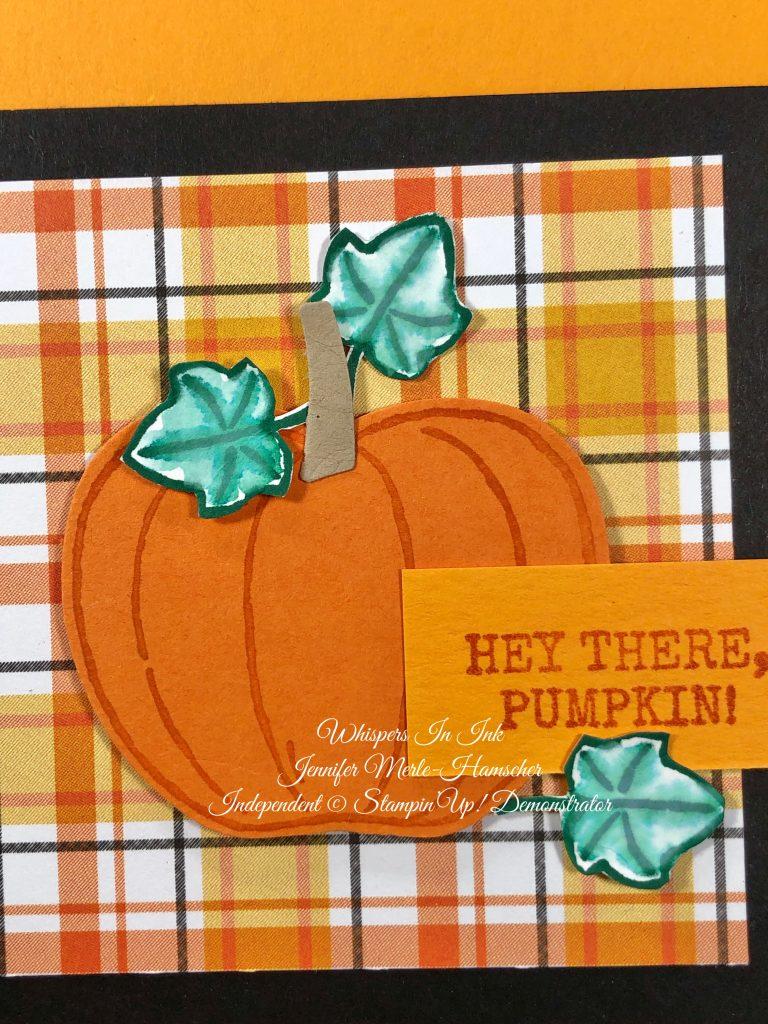 Plaid Hey There Pumpkin