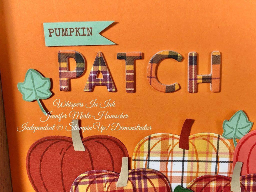 Pumpkin Patch in Plaid