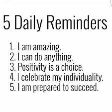 Sunday Reminders for you