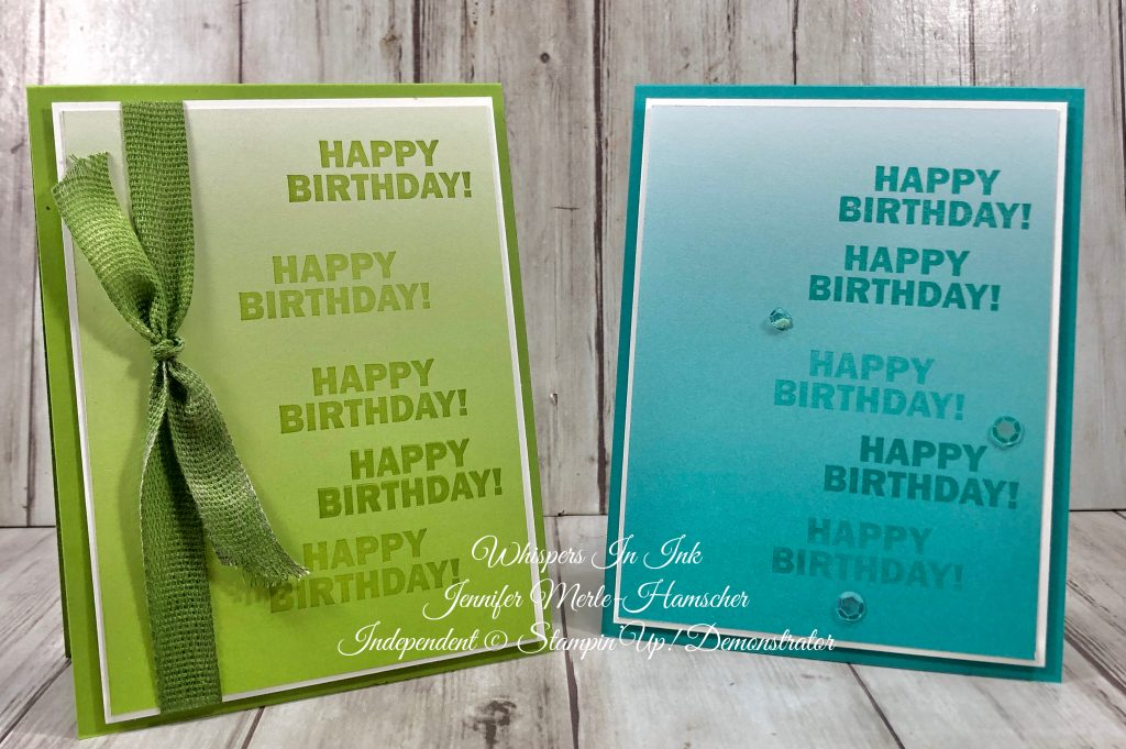 Stampartus Birthday with Sale-a-Bration