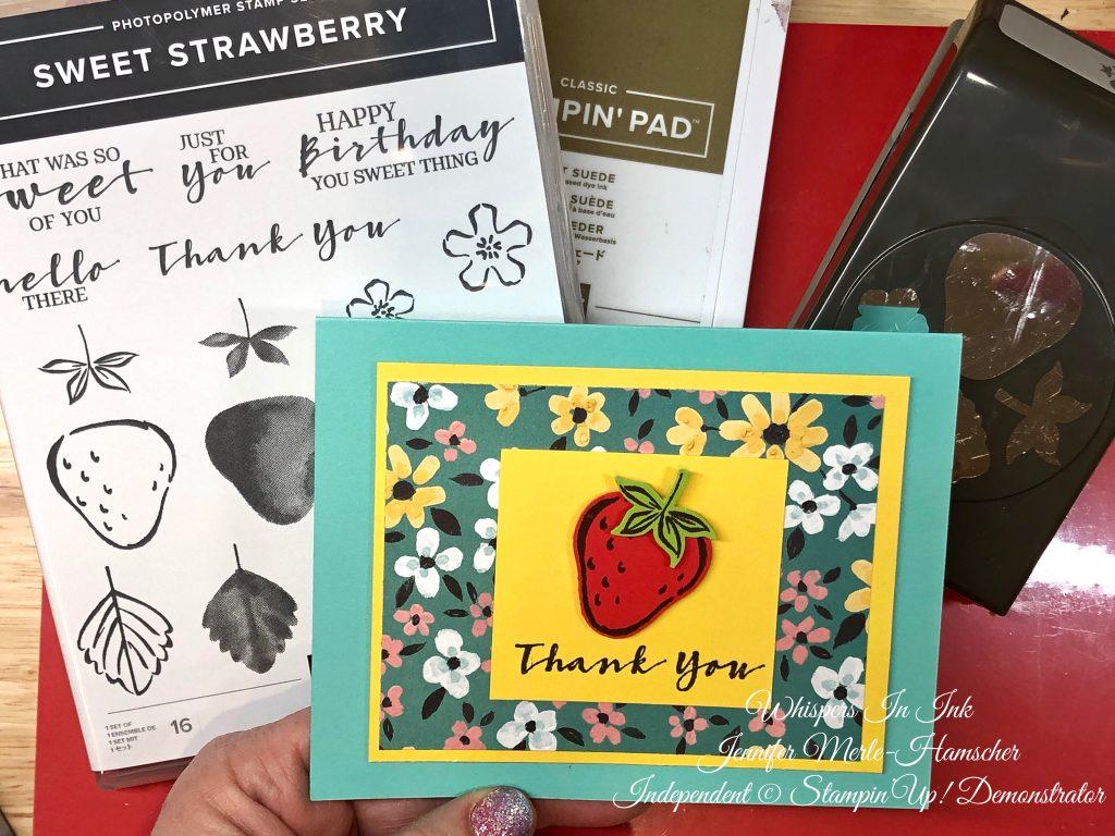 SAB Flower and Strawberries
