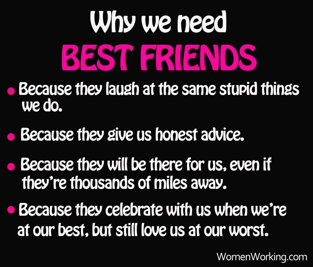 We need Best Friends