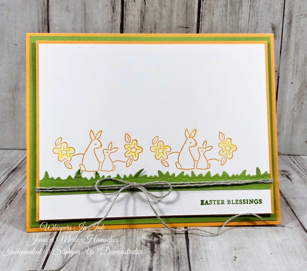 Easter Blessing with Rabbits