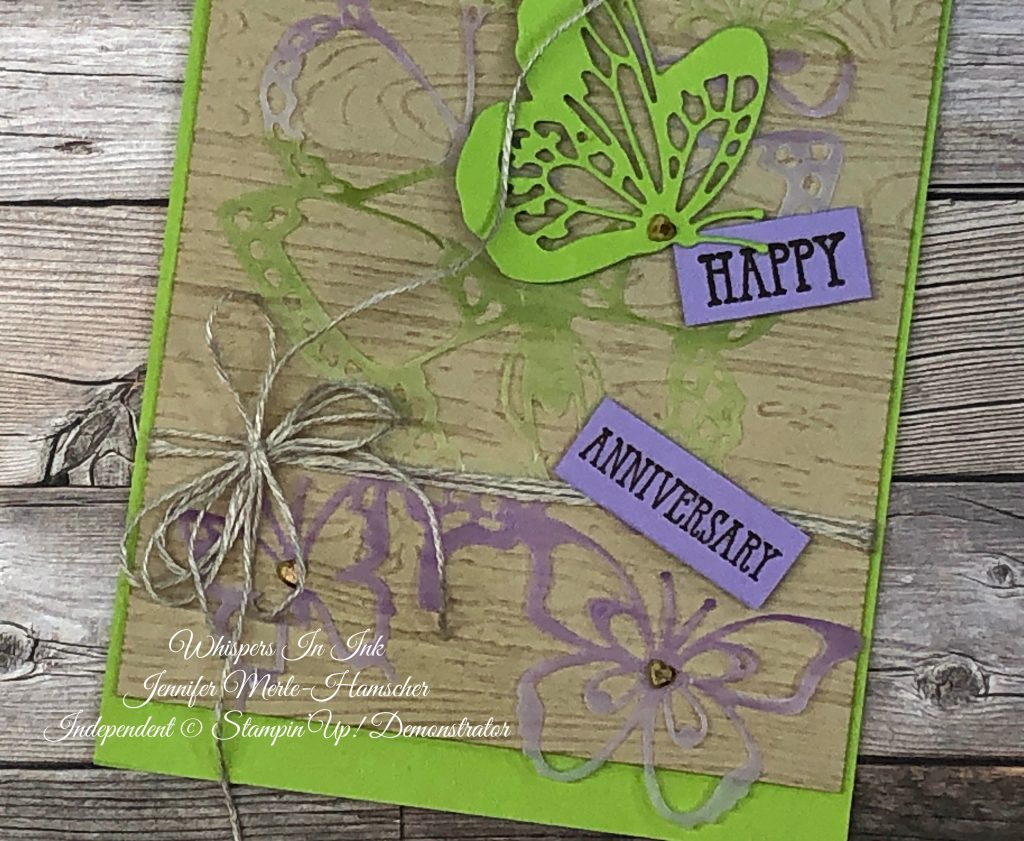 Beauty Abounds Anniversary card