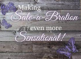 Making Sale-a-Bration even more Sensational.