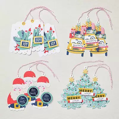 Love Santa tag kit